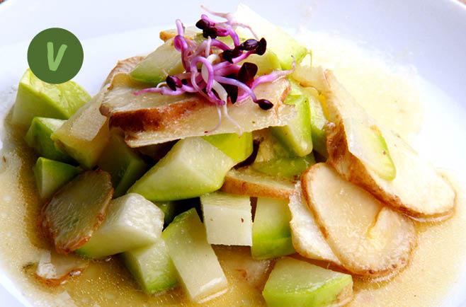 rita bringt 39 s topinambur kohlrabi salat mit krenmarinade. Black Bedroom Furniture Sets. Home Design Ideas