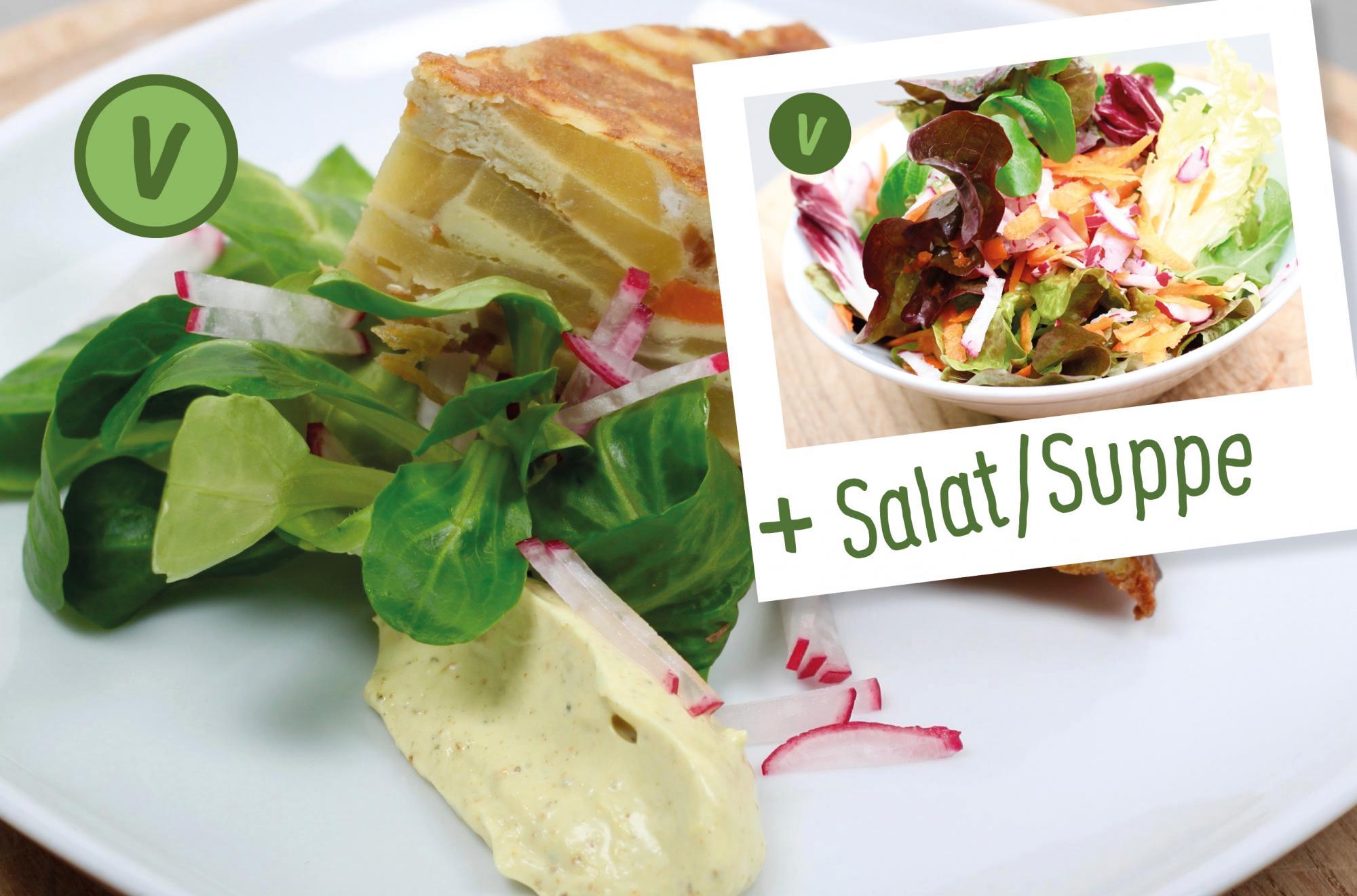 rita bringt 39 s herzhafte tortilla mit k rbis selbstgemachter mayo salatgarnitur suppe oder. Black Bedroom Furniture Sets. Home Design Ideas