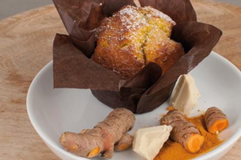 Kurkuma Muffin