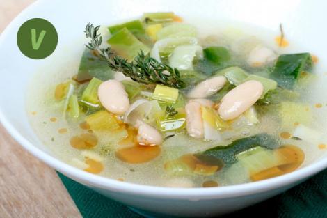 Bohnen Suppe
