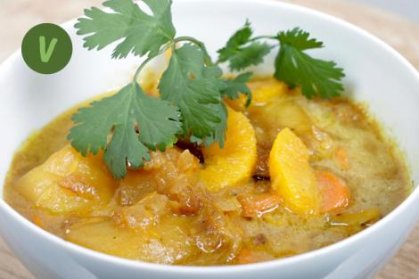 Fenchel Orangen Curry