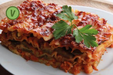 Frühlingsgemüse Lasagne