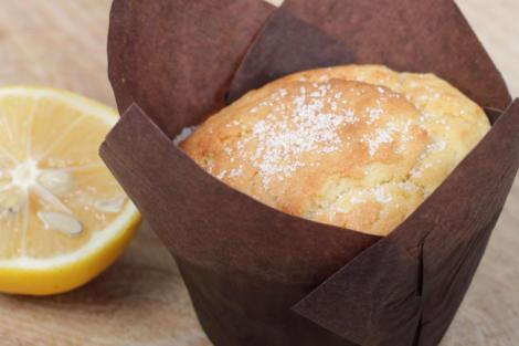 Zitronen Mohn Muffin