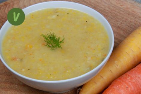 Wurzelgemüse Suppe