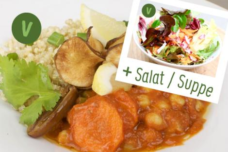 Menp Marokkanische Kichererbsen mit Quinoa